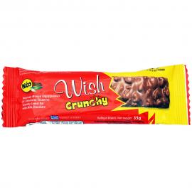 WISH Crunchy Stevia Bar 35gr