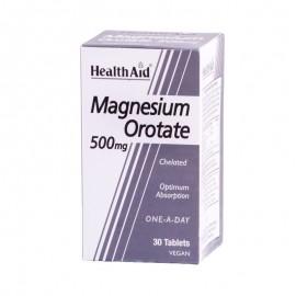 HEALTH AID Magnesium Orotate 500mg - 30Tabs