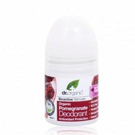 DR.ORGANIC Pomegranate Deodorant, Αποσμητικό με Βιολογικό Ρόδι - 50ml
