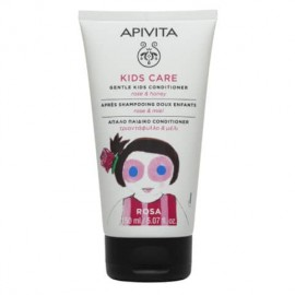 APIVITA Kids Hair Conditioner, Τριαντάφυλλο & Μέλι - 150ml