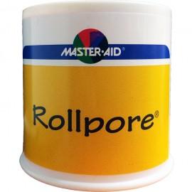 MASTER AID Rollpore - Χάρτινη Επιδεσμική Ταινία σε Ρολλό 5m x 5cm