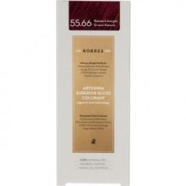 KORRES Βαφή Μαλλιών Abyssinia Superior Gloss Colorant Καστανό Ανοιχτό Έντονο 55.66 50ml
