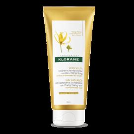 KLORANE Ylang-Ylang Conditioner Sun Radiance Επανορθωτική Κρέμα Μαλλιών για θρέψη & αντιηλιακή προστασία 200ml