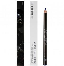 KORRES Kohl Eyeliner Volcanic Minerals Μολύβι Ματιών Μπλε 04 1.14gr