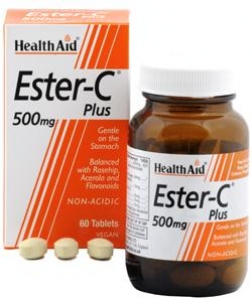 HEALTH AID ESTER C PLUS 500MG 60TABS