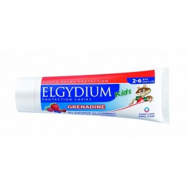 ELGYDIUM Kids Οδοντόκρεμα Red Berries 2-6 Ετών 50ml