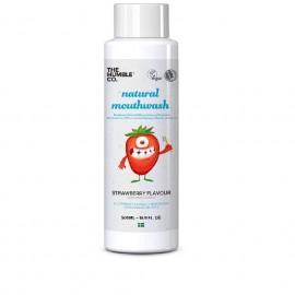 THE HUMBLE CO Natural Mouthwash, Στοματικό Διάλυμα με Φράουλα για Παιδιά - 500ml
