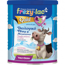 FREZYLAC Gold 3  - Βιολογικό Αγελαδινό Γάλα Από τον 12ο Μήνα 400gr
