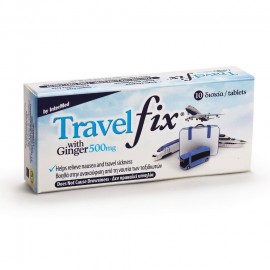 UNI-PHARMA Travel Fix with Ginger 500mg 10tabs