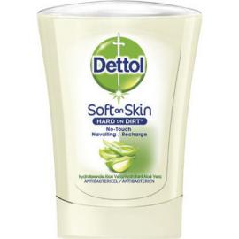 DETTOL No-Touch, Ανταλλακτικό Αντιβακτηριδιακό Κρεμοσάπουνο Aloe Vera & Vitamin E - 250ml