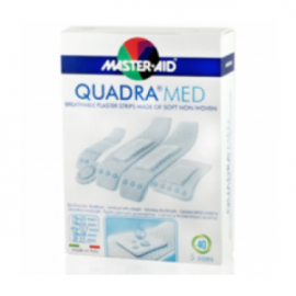 MASTER AID Quadra Med Αυτοκόλλητα Επιθέματα Διάφορα Μεγέθη 40τμχ
