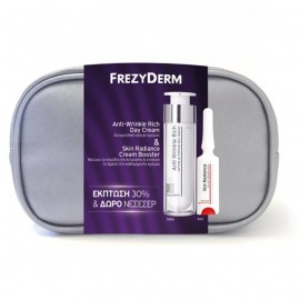 FREZYDERM Νεσεσέρ Anti-Wrinkle Rich Day Cream - 50ml & Δώρο Skin Radiance Cream Booster - 5ml
