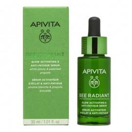 APIVITA Bee Radiant Serum, Ορός Λάμψης με Λευκή Παιώνια - 30ml