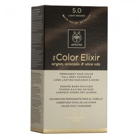 APIVITA My Color Elixir, Βαφή Μαλλιών No 5.0 - Ανοιχτό