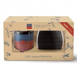 TERRANOVA Beauty Complex Hair-Skin-Nails 50caps & ΔΩΡΟ Χτένα