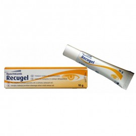 BAUSCH & LOMB Recugel Eye Gel - Οφθαλμική Γέλη 10gr