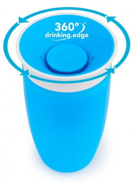 MUNCHKIN Miracle 360 Sippy Cup Blue - 296ml