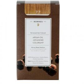 KORRES Βαφή Argan Oil 7.7 Καστανό Μόκα - 50ml