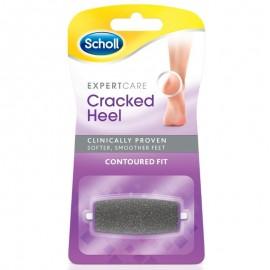 SCHOLL Expert Care Cracked Heel, Contoured Fit, Ανταλλακτική Κεφαλή Ηλεκτρικής Λίμας