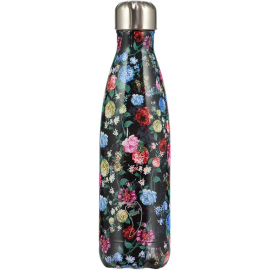 CHILLY'S BOTTLES Μπουκάλι- Θερμός, Floral Edition Roses - 500ml