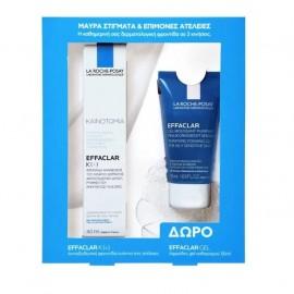 LA ROCHE POSAY Σετ Effaclar K(+) Cream, Φροντίδα Ανανέωσης - 40ml & Δώρο Effaclar Gel - 50ml