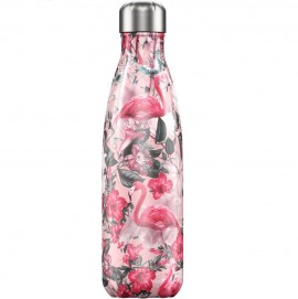 CHILLY'S BOTTLES Μπουκάλι- Θερμός Tropical Edition Flamingo - 500ml