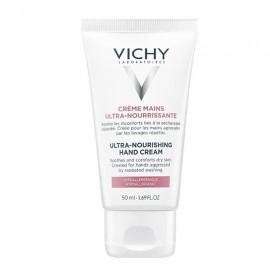 VICHY Ultra Nourishing Hand Cream, Ενυδατική Κρέμα Χεριών - 50ml