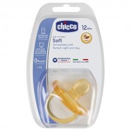 CHICCO Physio Soft Πιπίλα Όλο Καουτσούκ 12m+