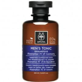 APIVITA Men's Tonic Shampoo - Τονωτικό Σαμπουάν Κατά Της Τριχόπτωσης Για Άνδρες 250ml