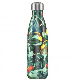 CHILLY'S BOTTLES Μπουκάλι- Θερμός Toucan Tropical Edition - 500ml