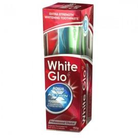 WHITE GLO Professional Choice - Λευκαντική Οδοντόκρεμα 150gr + ΔΩΡΟ Οδοντόβουρτσα
