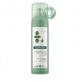KLORANE Ξηρό Σαμπουάν με Τσουκνίδα για Λιπαρά Μαλλιά - 150ml