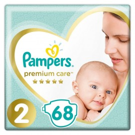 PAMPERS Premium Care No 2 (4-8 Κg) - 68τμχ