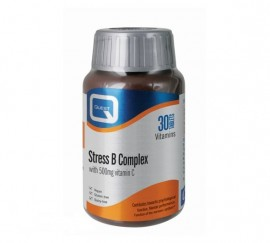 QUEST Stress B Complex, Plus 500mg Vitamin C - 30tabs