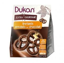 Dukan Bretzels Βρώμης με επικάλυψη σοκολάτας 100gr