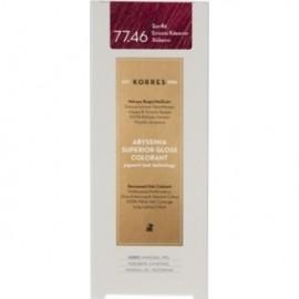 KORRES Βαφή Μαλλιών Abyssinia Superior Gloss Colorant Ξανθό Έντονο Κόκκινο Χάλκινο 77.46 50ml