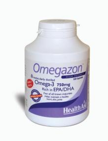 Health Aid Omegazon  Omega-3 750mg 120caps
