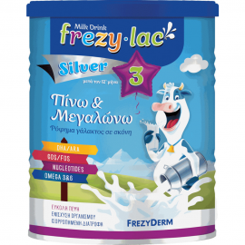 FREZYLAC Silver 3 Ρόφημα Αγελαδινού Γάλακτος σε σκόνη από τον 12 μήνα 400gr