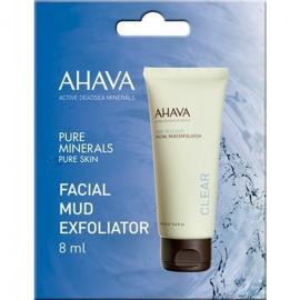 AHAVA Facial Mud Exfoliator - Απολεπιστικό Προσώπου με Λάσπη Νεκράς Θάλασσας 8ml