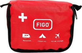 FIGO First Aid Set 39pcs Travel bag with Zipper- Φορητό Τσαντάκι Πρώτων Βοηθειών Με Φερμουάρ -39 τμχ