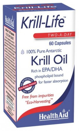 HEALTH AID KRILL-LIFE-KRILL OIL 500MG 60CAPS