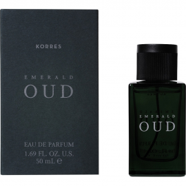 KORRES Emerald Oud Eau de Parfum Ανδρικό Άρωμα 50ml