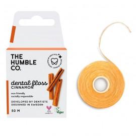 THE HUMBLE CO Dental Floss, Οδοντικό Νήμα με Γεύση Κανέλα - 50m