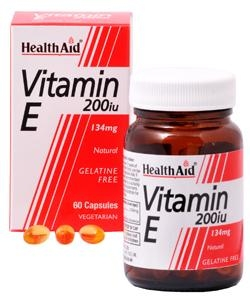 HEALTH AID Vitamin E 200IU - 60caps