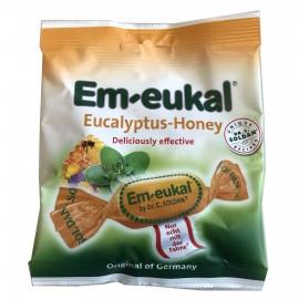 EM-EUKAL Καραμέλες με Ευκάλυπτο και  Μέλι 50g (12τεμ)