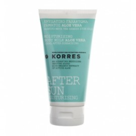 KORRES AFTER SUN ALOE VERA MOISTURISING BODY MILK 150ml