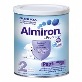 ALMIRON Pepti 2, Γάλα κατά της Αλλεργίας στην Πρωτεΐνη Γάλακτος - 450gr