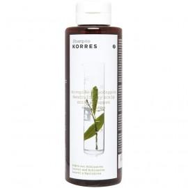 KORRES Σαμπουάν Δάφνη & Echinacea Για Πιτυρίδα-Ξηροδερμία 250ml