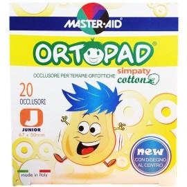 MASTER AID Ortopad Simpaty Παιδικά Οφθαλμικά Aυτοκόλλητα 20τμχ (67x50cm)