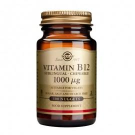 SOLGAR Vitamin B12 1000μg - 100nuggets